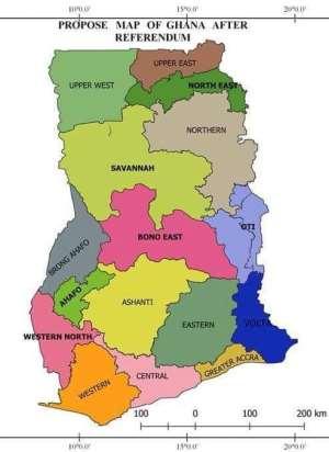 Ghana Needs Law to Regulate Future Creation of New Regions