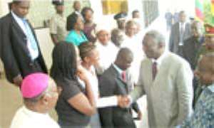 Kufuor Storms Students' Meeting