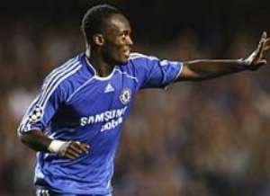 Joy for Essien