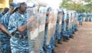 Tight Security For GHANA 2008