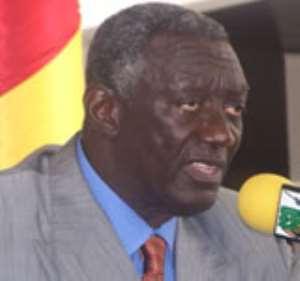 President Kufuor inaugurates 'Asafo Interchange'