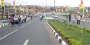 Kufuor Commissions Asafo Interchange