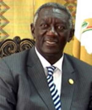 Kufuor Receives Special Greetings On Accident