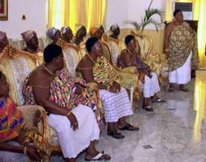 Magestic Queen Mothers of Ghana