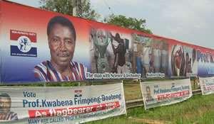 Prof. Frimpong-Boateng has longest billboard