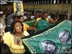 Heckles open ANC election meeting