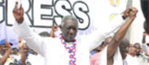 ...He's Man Of The Moment - Kufuor