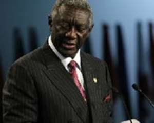 President Kufuor grants audience to delegation of Cardiologists