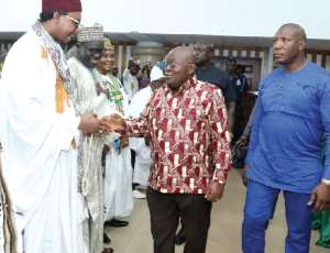 Rescue Islam From Extremists — Akufo-Addo Tells Muslim Leaders