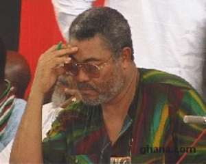 NDC MPs 'Shut' Rawlings Up