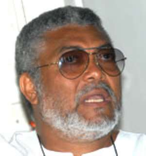 Rawlings missing at NDC campaign launch