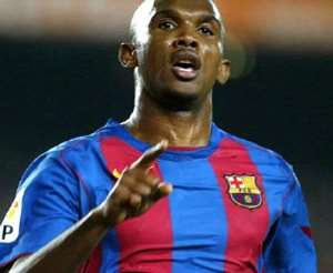 Eto'o voted African Footballer of the Year