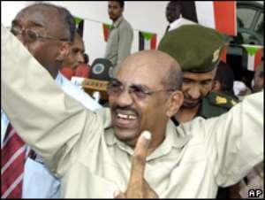 Sudanese President al-Bashir returns home