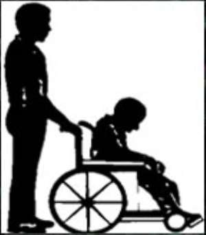 Physically challenged persons face ejection