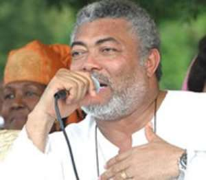 NDC aims at uniting the country - declares former President Rawlings