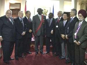 World Federation of Councils Decorates Prez Kufuor