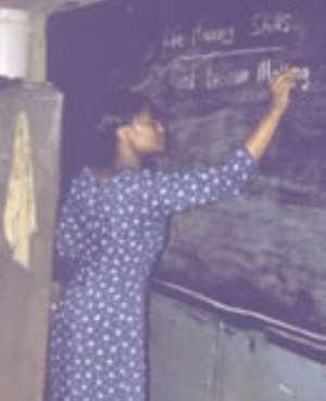 Sikaman Palava: the Blackboard and the chalk
