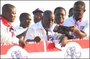 Nana Unveils Health Agenda