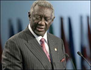 Kufuor Dedicates Award•To Ghanaians