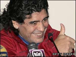 Maradona 'set to coach Argentina'