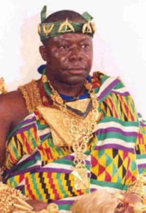 Otumfuo`s promise to GhanaiansI WILL UNITE RAWLINGS, JAK... describes duo as priceless assets