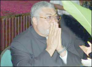 Rawlings Bodyguards Whack Journalist