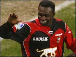 Mensah makes return to training