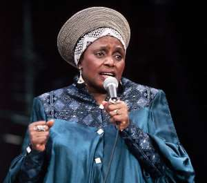 Makeba Sings Her Way into Her Ancestral Abode