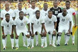 Ghana Slip On FIFA Ranking