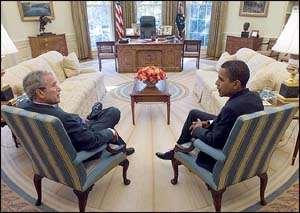 Obama Tours White House
