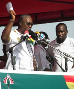 John Mahama: Be peaceful and vigilant