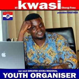 Kwasi Obeng-Fosu 4 Greater Accra Regional Youth Organizer