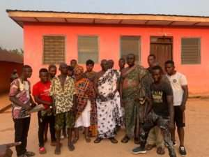 Yirenkyikrom Youth Association Donates To Widows In Kwahu South District