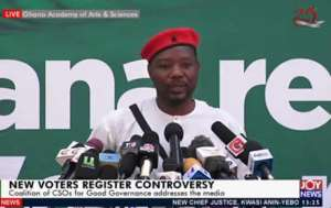 'EC Wants To Plunge Ghana Into Calamity' - Mornah