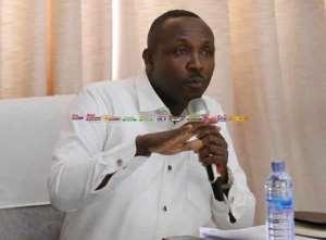 NPP's General Secretary, John Boadu represented his party.