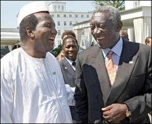 Kufuor Meets Ex-Malian Leader