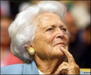 Barbara Bush In Hospital With Stomach Pain