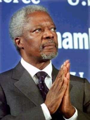 Kofi Annan Under  Fire....