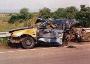 Road accidents still a major cause of death