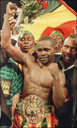 Azumah Nelson, Black Africa's finest fighter?