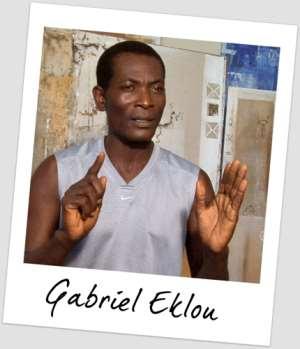 Gabriel Eklou: The Black Star Of Ghana Art District
