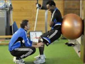 Essien returns to training