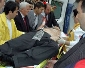 Two held over killing of Turkish judge