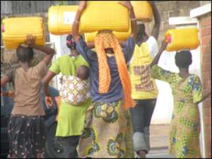 Water shortage bites Accra