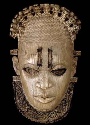 Queen-mother Idia, Benin/Nigeria, now in the British Museum. Seized by the British during the invasion of Benin in 1897.Will she ever be liberated from the British Museum?