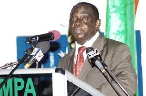 Mr Joe Issachar the Head of Civil Service
