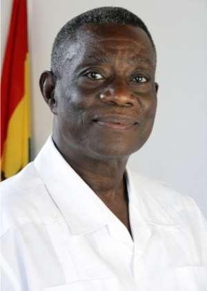 H E Prof J E Atta Mills, President of the Republic of Ghana