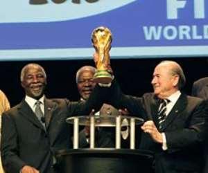 SA President Thabo Mbeki and FIFA President Sepp Blatter