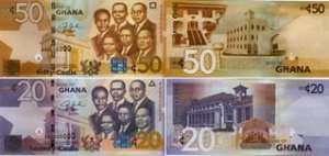 Cedi falls to major trading currencies