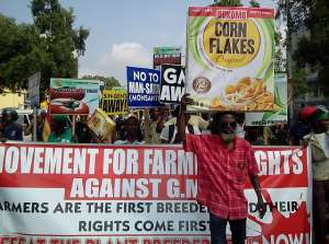 Huge Row Over GMOs As Thousands Protest In Accra